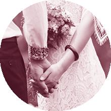 Brautpaar, Hochzeit, Heiraten