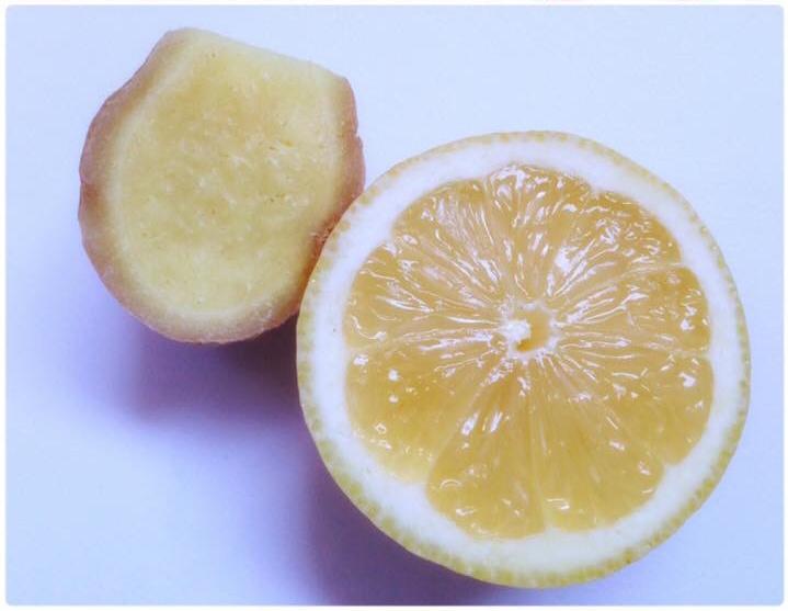 Zitronen-Ingwertee
