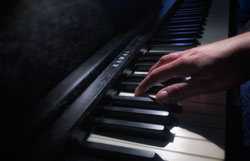 Einsingen am Klavier
