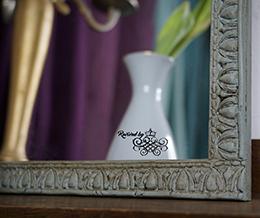 Spiegel Vintage Upcycling